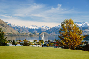 Stunning views over Lake Wanaka - Otago Golf