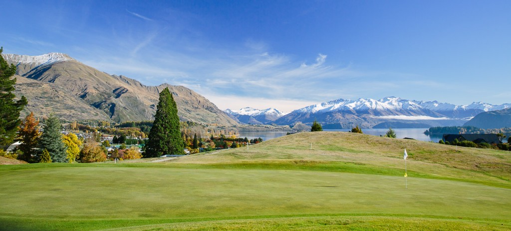 Wanaka Golf Club - Homepage Image