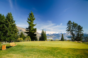 The view from the 8th tee - Wanaka Golf, Queenstown Lakes