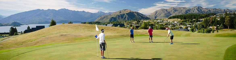 wanaka golf visitors