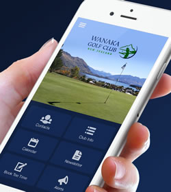 Download the Wanaka Golf Club App